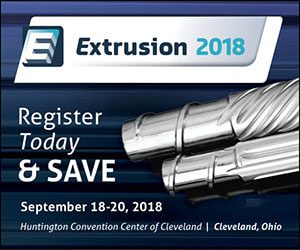 Extrusion 2018 – Register and Save 25%