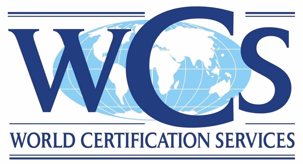 ISO 9001 2015 Certified by WCS